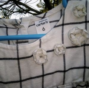 Carter's Shirts & Tops - 👻Carter's Girls Blouse Size 6